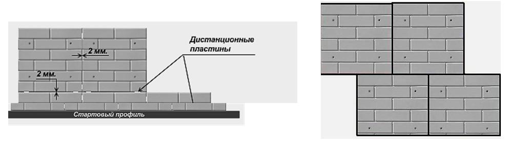 Монтаж плит